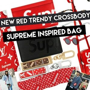 Handbags - Adjustable RED UNISEX Messenger Bag